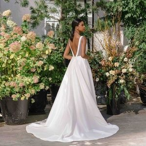BHLDN Jenny Yoo Octavia Gown Size 6 NEW